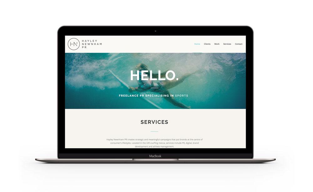 Hayley Newnham Website